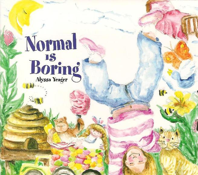 Normal is Boring Logo